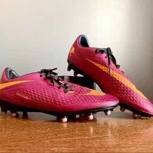 Women's Pink Hypervenom Soccer Cleats